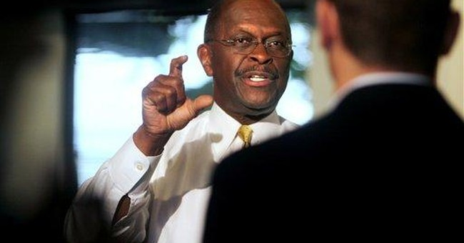 Cain's nontraditional strategy _ unlikely, too?